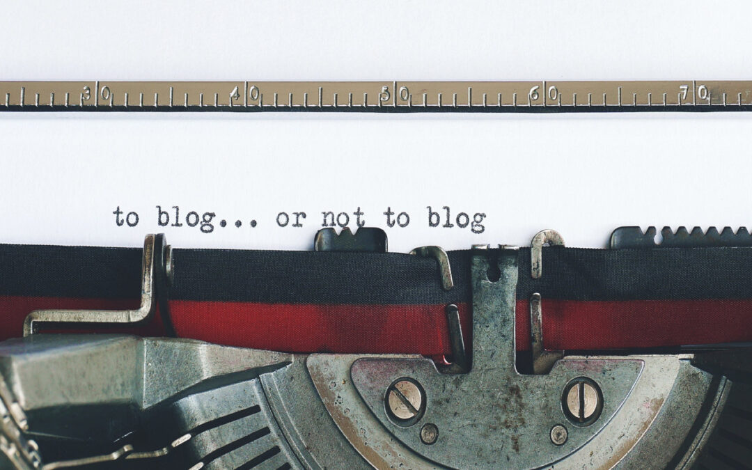 Blogging – The Fashion Of Passion